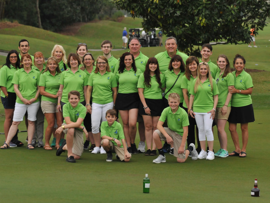 2016 golf event volunteers