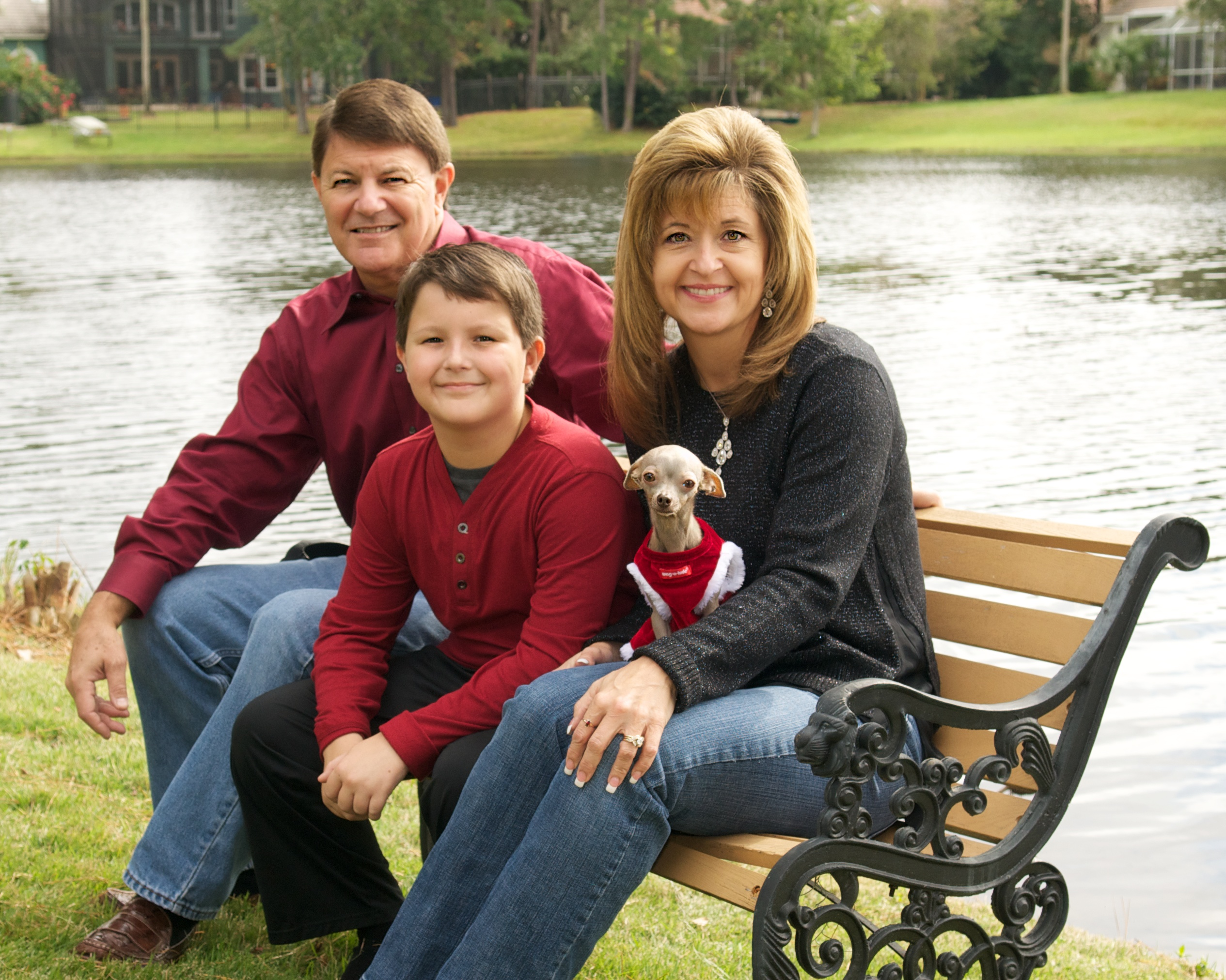 Jordan Smelski and Family