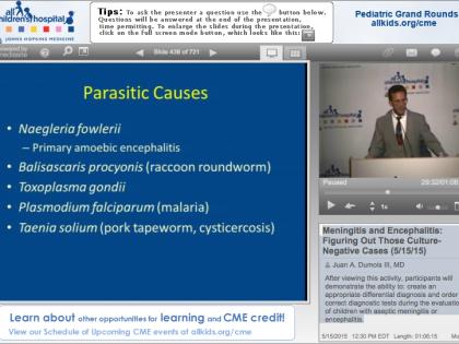 All Children's Hospital Presentation, Dr. Juan A. Dumois, M.D.