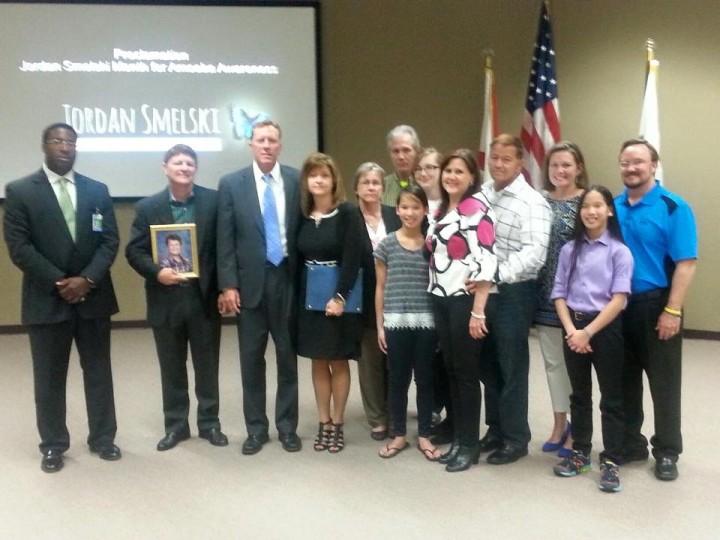 Sanford City Council Meeting Mayor Jeff Tripplet to Present Proclamation for Jordan Smelski Month for Amoeba Awareness