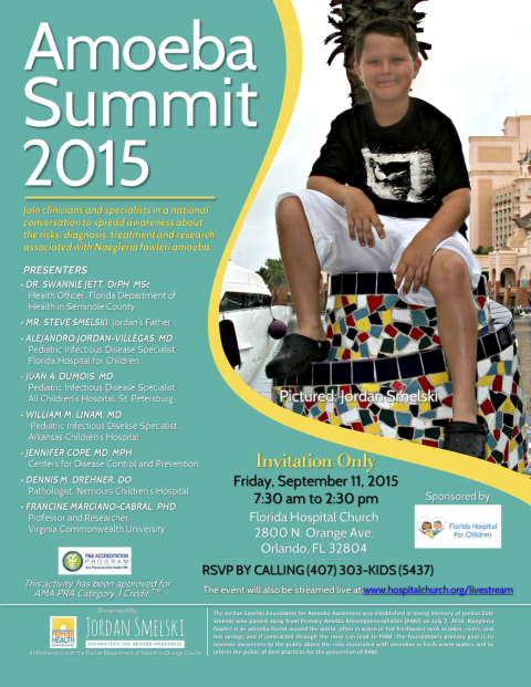 Amoeba Summit 2015 Invitation Flyer